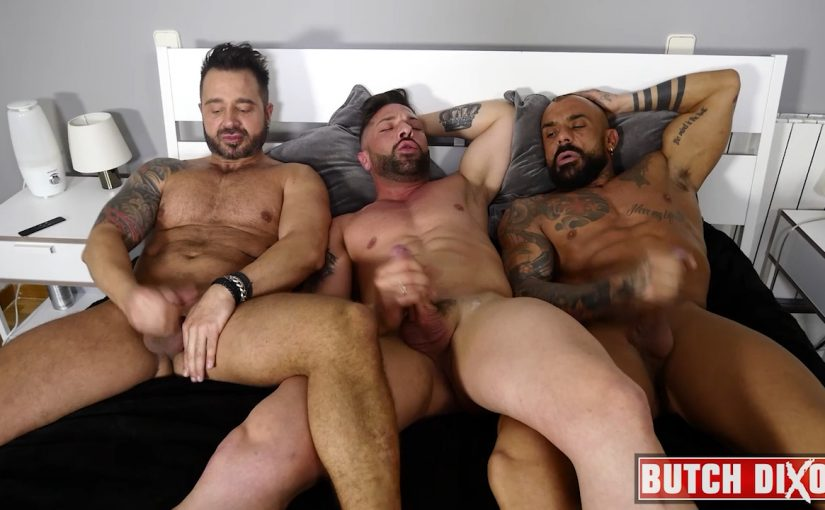Martin Mazza, Jose Santos and Sebastian Reissx