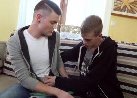 Justin and Jeffrey