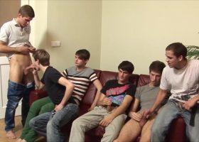 6 Boy Sex Orgy